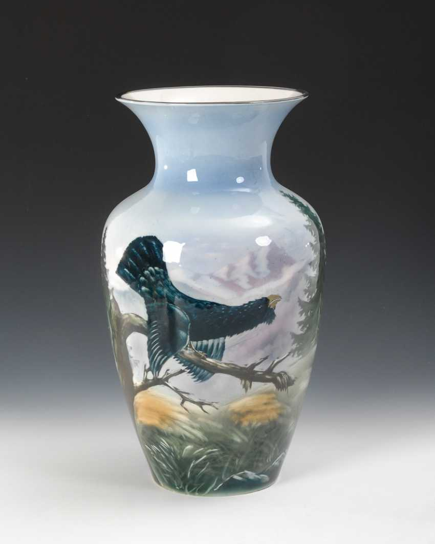 Vase with hunting motif, Mitterteich. - photo 1