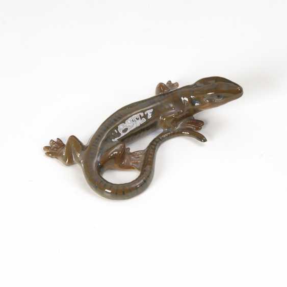 Miniaturfigur: Eidechse, Rosenthal. - Foto 1