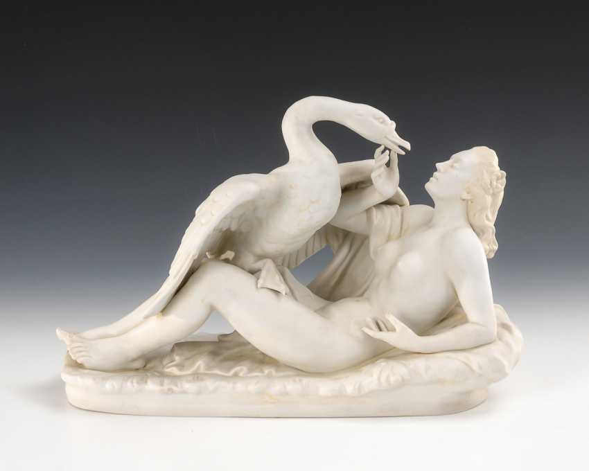 Leda with the Swan, Scheibe-Alsbach. - photo 1