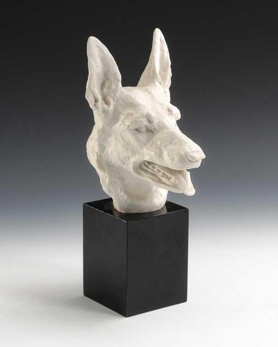 Shepherd Dog Head, Rosenthal. - photo 1