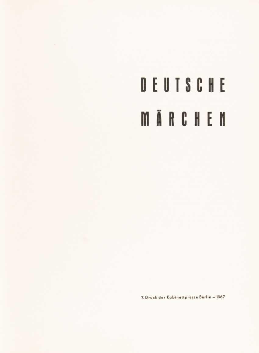 """7. Druck der Kabinettpresse Berlin - """"Deutsche Märchen"""". - Foto 1"""