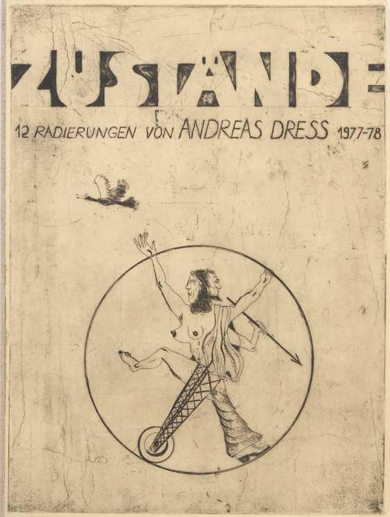 """DRESS, Andreas: """"Zustände"""". - Foto 1"""