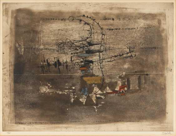 FRIEDLÄNDER, Johnny: Abstrakte Komposition. - Foto 1