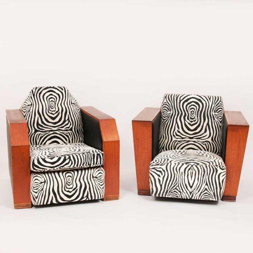 """Paar Art-Deco-Sessel"" - photo 1"