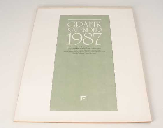 Graphic calendar 1987 - photo 1