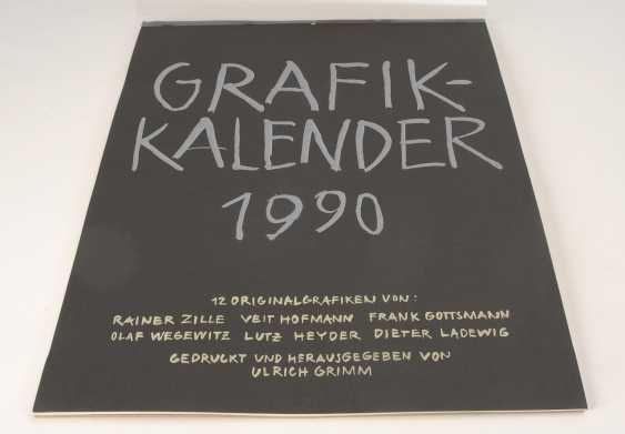 Grafikkalender 1990. - Foto 1