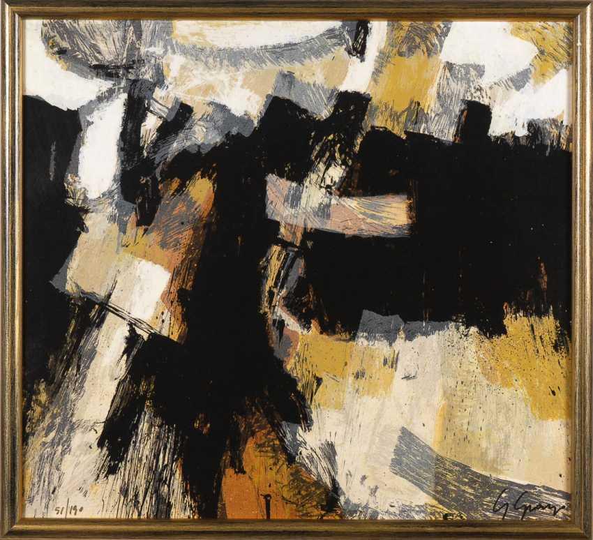 GRANZO, Giuseppe: Abstract composition. - photo 1