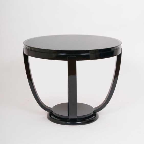 """""""Round Art Deco Side Table"""" - photo 1"""