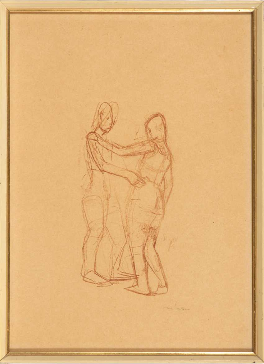 RICHTER, Hans Theo: study of a dancing couple. - photo 1