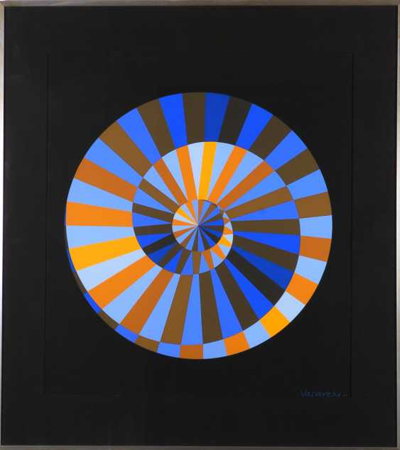 VASARELY, Victor: the Official Emblem for the games of the XX Olympiad - photo 1