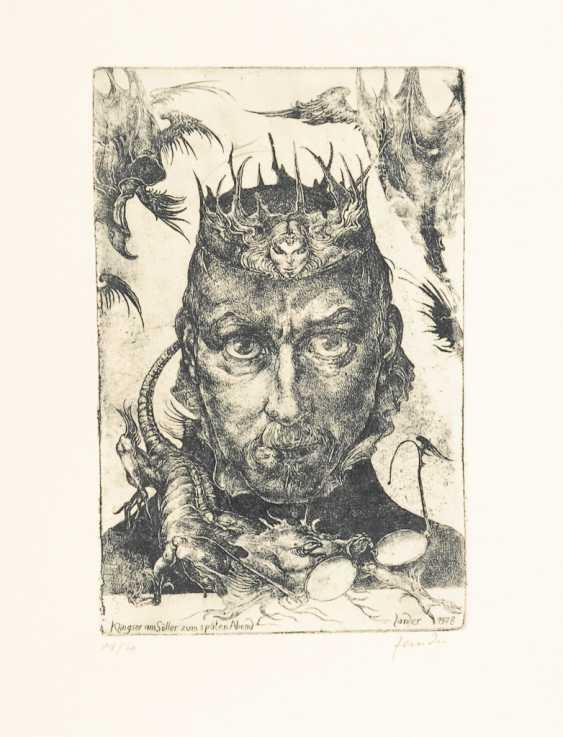 ZANDER, Heinz: 15 etchings session. - photo 1