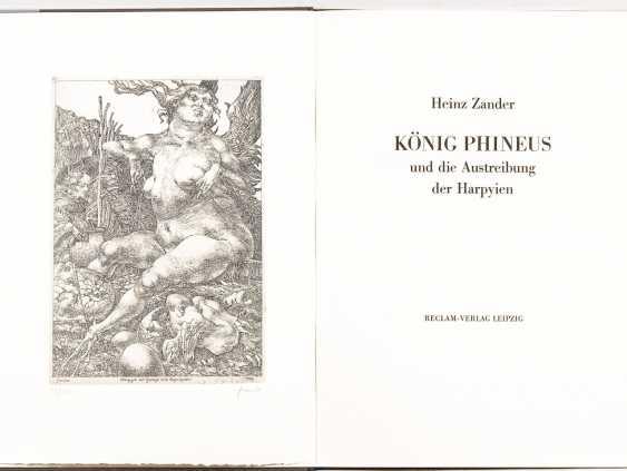 "ZANDER, Heinz: ""king Phineus and the expulsion of the harpies"". - photo 1"