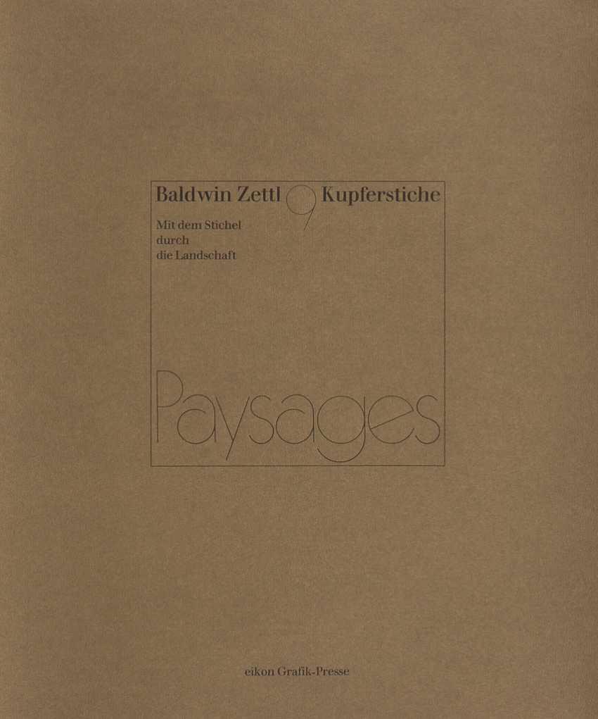 "ZETTL, Baldwin: ""Paysages"" - photo 1"