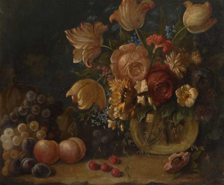 Anonym: Blumenstillleben um 1800. - Foto 1