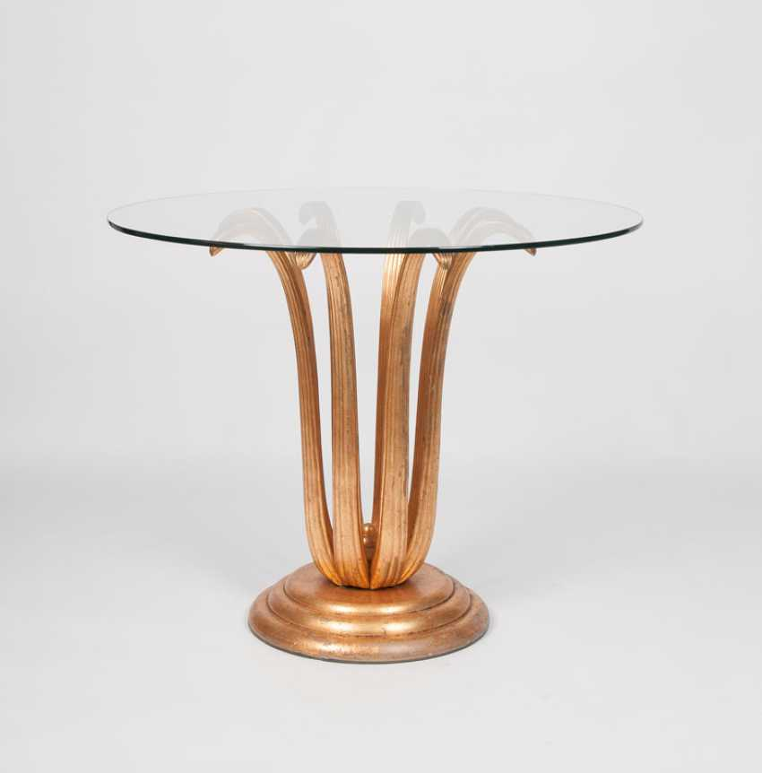 """Vintage table with Golden Blütenfuß"" - photo 1"
