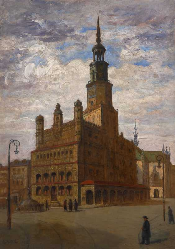 Ansicht des Renaissance-Rathauses in Poznan - Polen. - photo 1