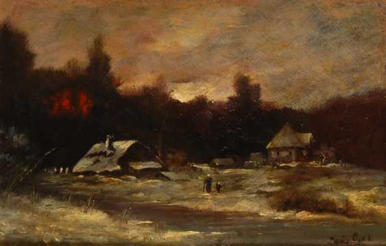 APOL Louis winter landscape at the edge of the forest. - photo 1