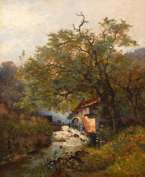 """ARENDT, A.: """"Wassermühle aus dem Ilsetal"""". - Foto 1"""