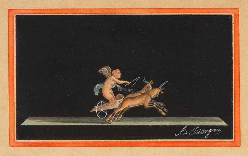 Braucht, A.: Putto im Ziegenwagen. - Foto 1