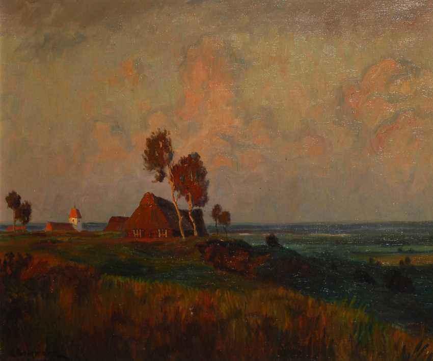 BORGMANN, Gustav: Landschaft bei Worpswede. - Foto 1