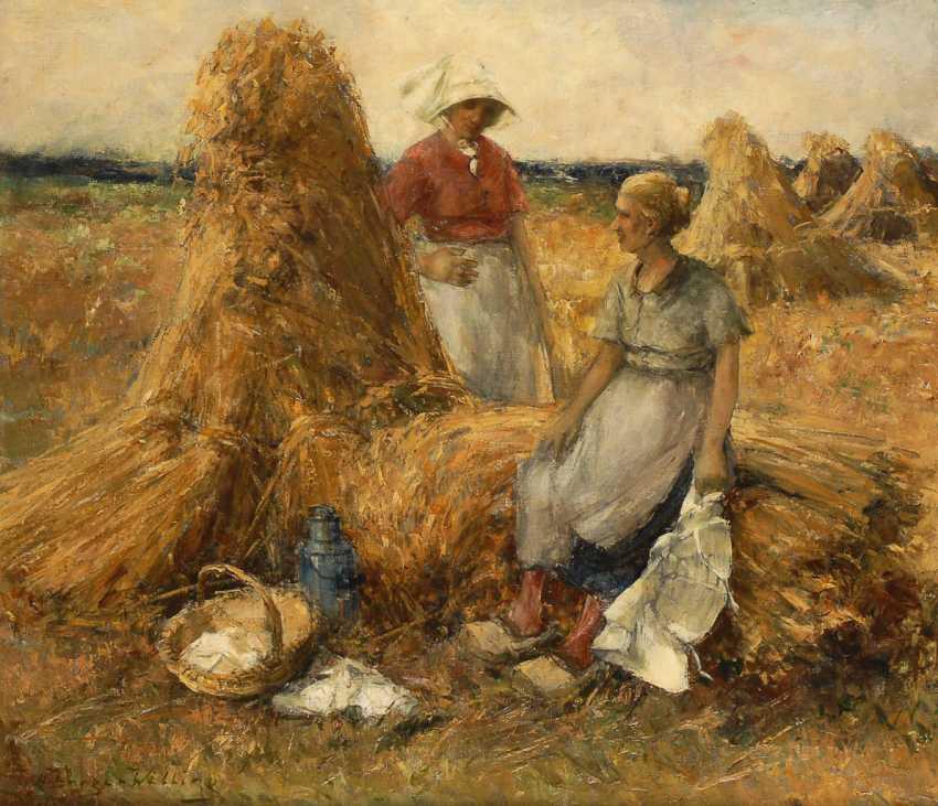 BURGER-WILLING, Willi-Hans: grid at harvest. - photo 1