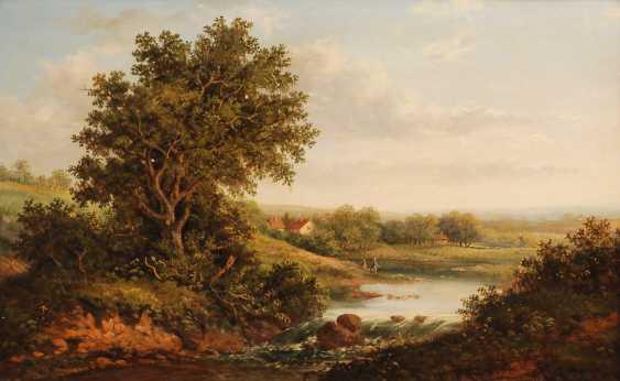 CONSTABLE, John Nachfolge: Sonnige Landschaft. - Foto 1