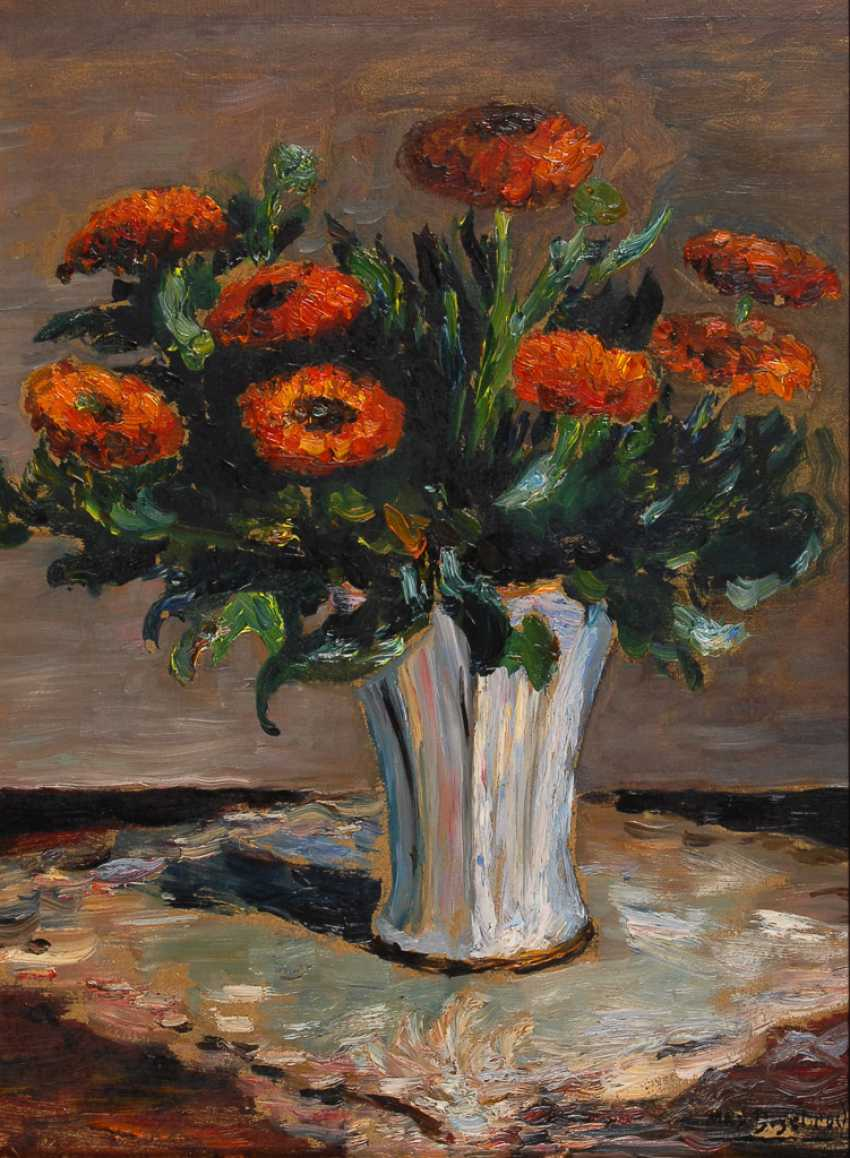 DEGEBRODT, Max: straw bouquet of flowers. - photo 1