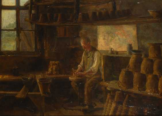 DEYMANN, length: Potter at work. - photo 1
