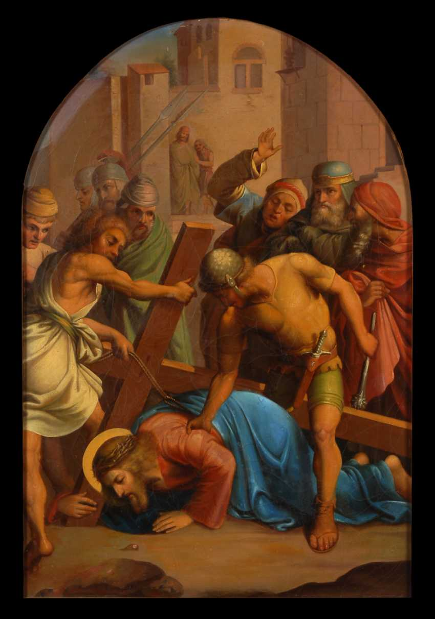 Christ Carrying The Cross. - photo 1