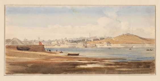 English painter, around 1820: views of Liverpool. - photo 1