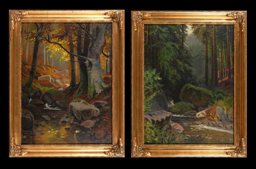 ESCHWEGE, Elmar from: Two landscapes. - photo 1