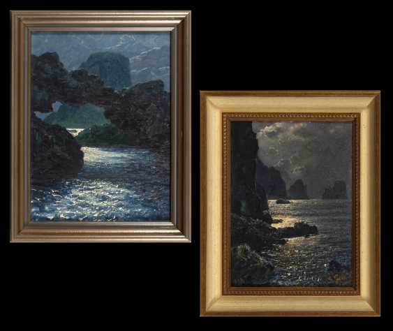 FEDERICO, Salvatore: Pendants Capri bei Nacht. - photo 1