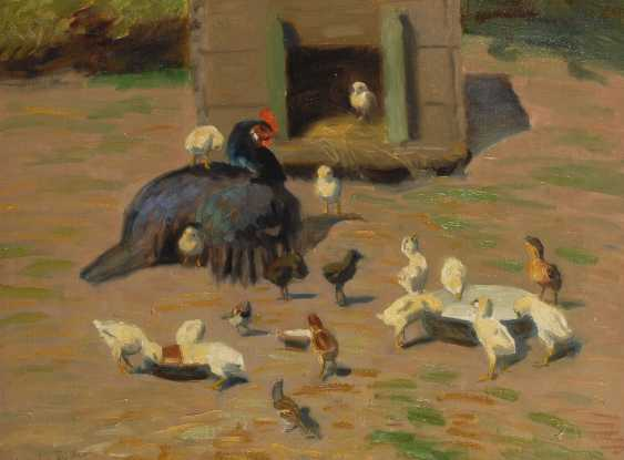 FISCHER, Vilhelm Theodor: chicken. - photo 1