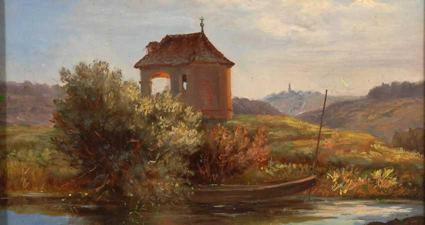 FRAIDEL, Alois: the Baroque chapel on the shore. - photo 1