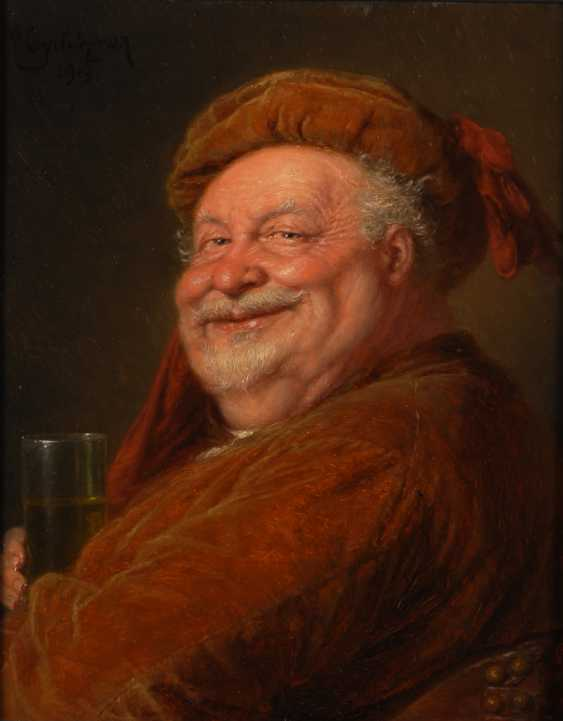 GRÜTZNER, Eduard von: Drinking nobleman. - photo 1