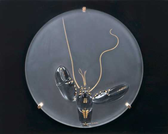 "Paul Wunderlich ""Rosenthal-year object 'Lobster' in glass"" - photo 1"