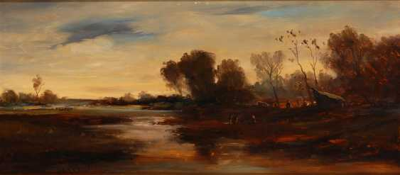 HANSEN: Herbstliche Moorlandschaft. - Foto 1