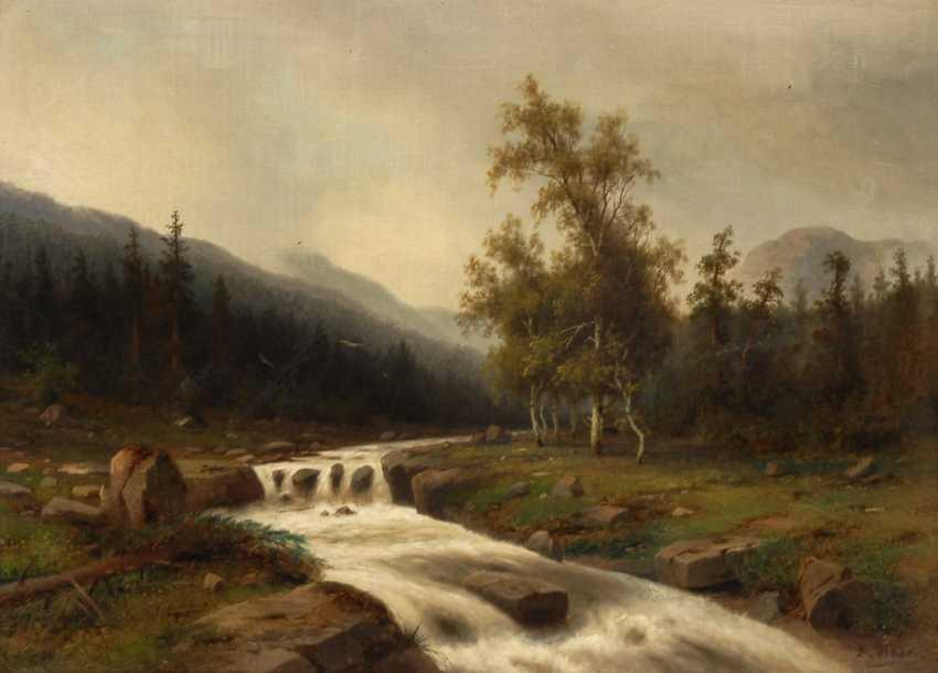 HEIN, Eduard this year: mountain river. - photo 1