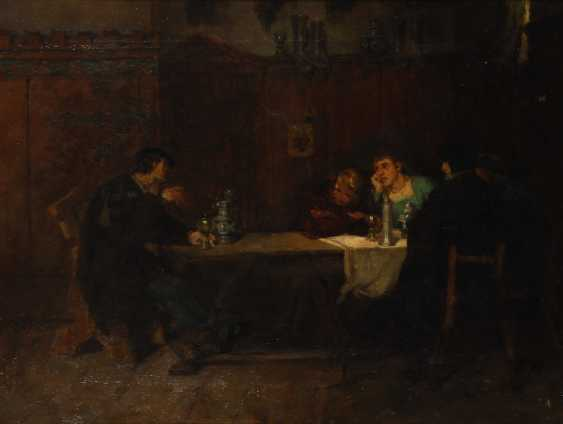 Historical genre scene with Drinking. - photo 1