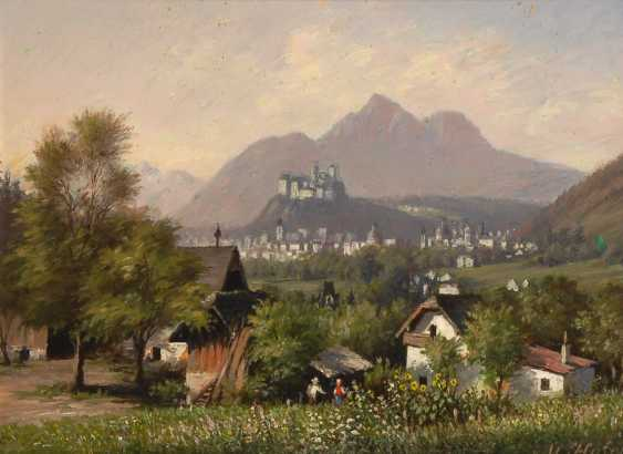 HOFER, M.: a view on Salzburg. - photo 1