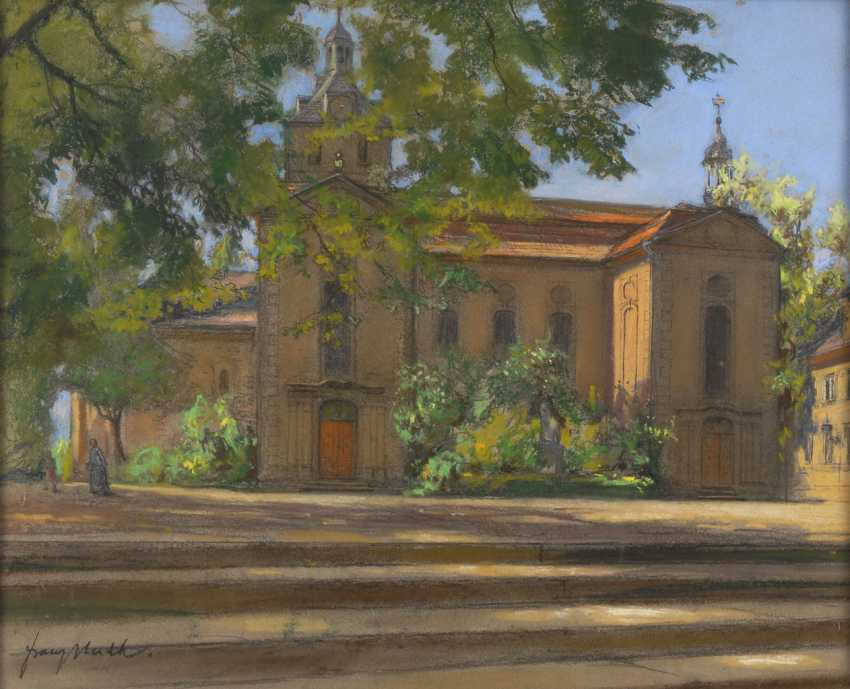 HUTH, Franz: Sunny view of the Church. - photo 1