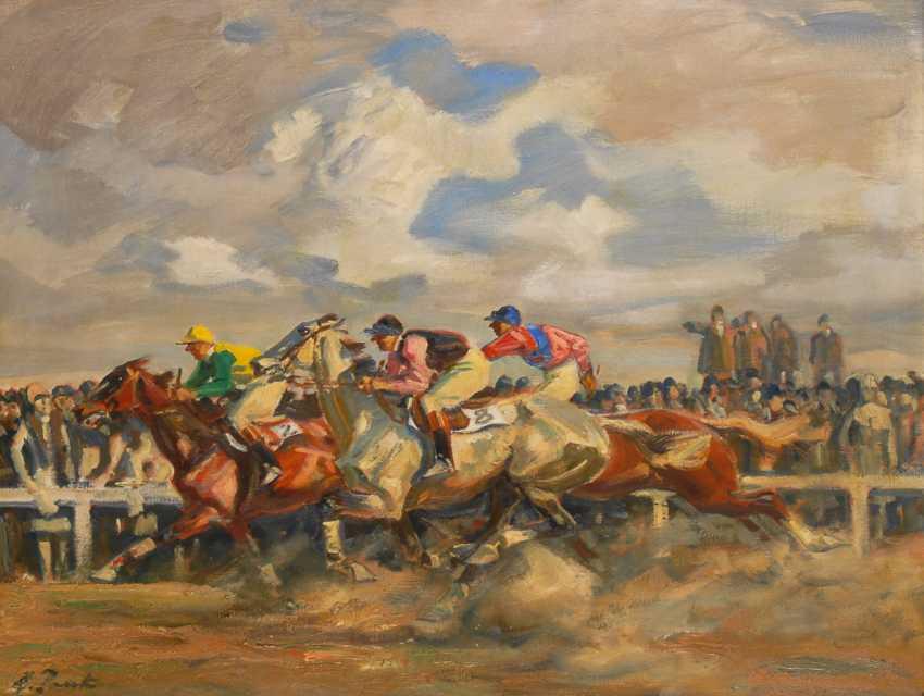 JANK, Angelo: Pferderennen. - Foto 1