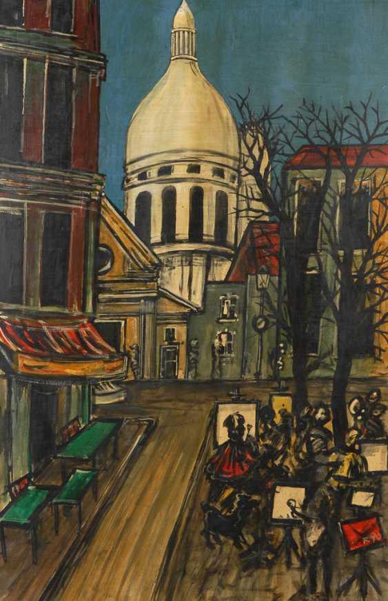 JEAN LUC: Montmartre - Maler auf der Straße. - Foto 1