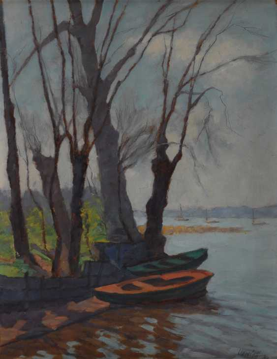 KARELOFF: Boote am Ufer. - Foto 1
