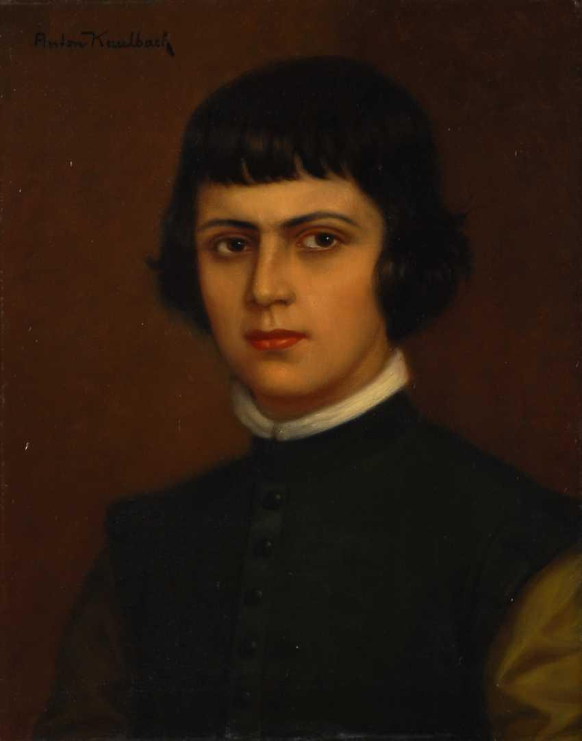 KAULBACH, Anton: portrait of the Spanish boys, Baltasar. - photo 1