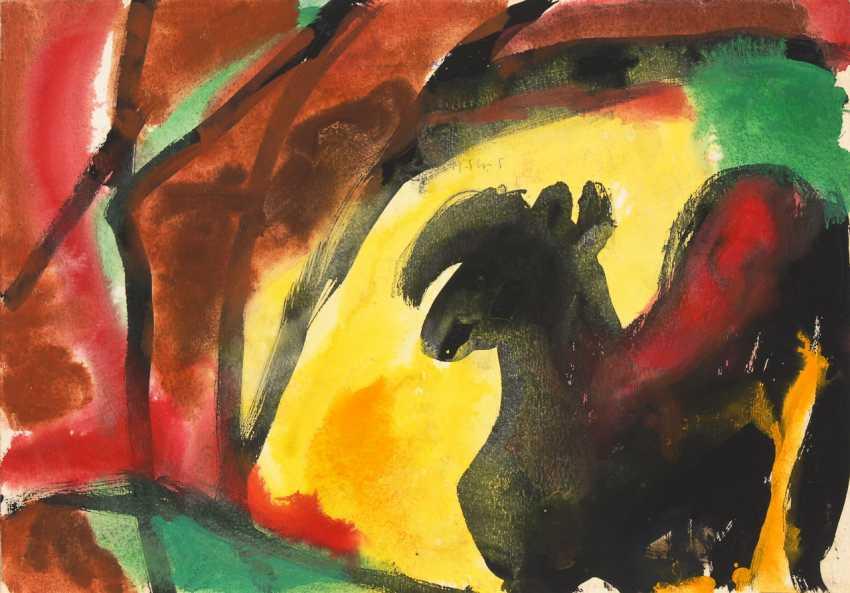 KELLER, Fritz: the black Pony. - photo 1