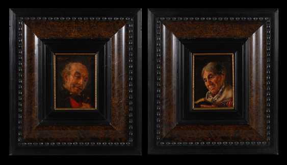 KIRCHNER, Otto (Kirchner-Eckart): Zwei Porträts. - photo 1