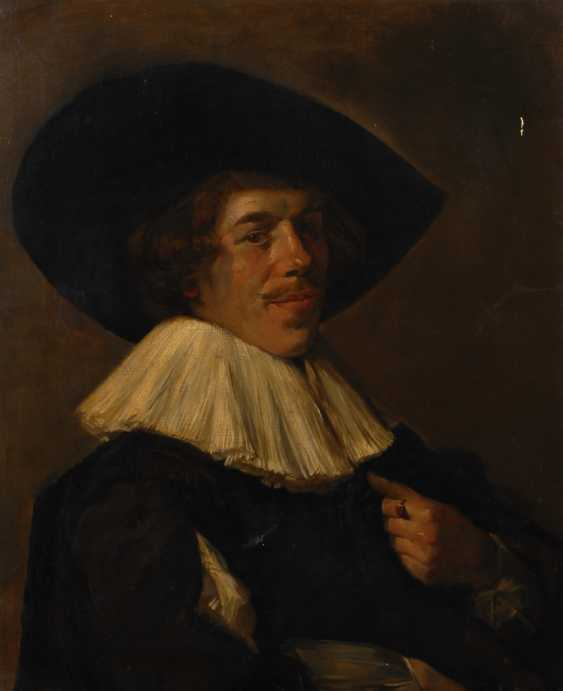 Kopie nach Frans Hals: Bildnis eines jungen Mannes. - Foto 1