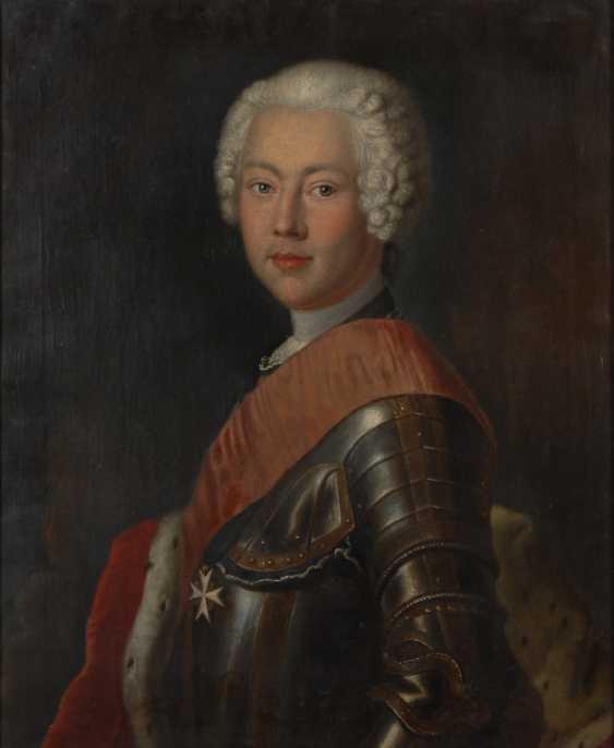 Kopie nach Georg (Jerzy) Lisiewski: Porträt Friedrich von - Foto 1