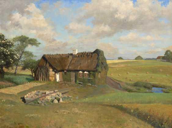 KORNERUP, Valdemar: Alte Bauernkate. - Foto 1